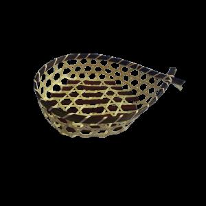 22cmFishShapeBambooBasket_22cm鱼形竹料理篮