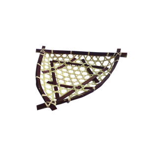 25cmTFlatBambooBasket25cm三角形平底竹料理篮