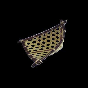25cmTShapeBambooBasket_25cm三角形尖底竹料理篮