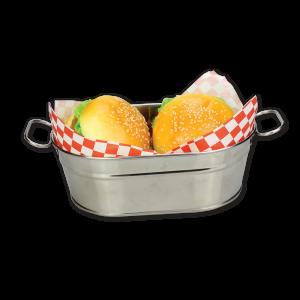 22-5cmSsteelFfriesBarrel_22-5cm钢椭圆形薯条桶